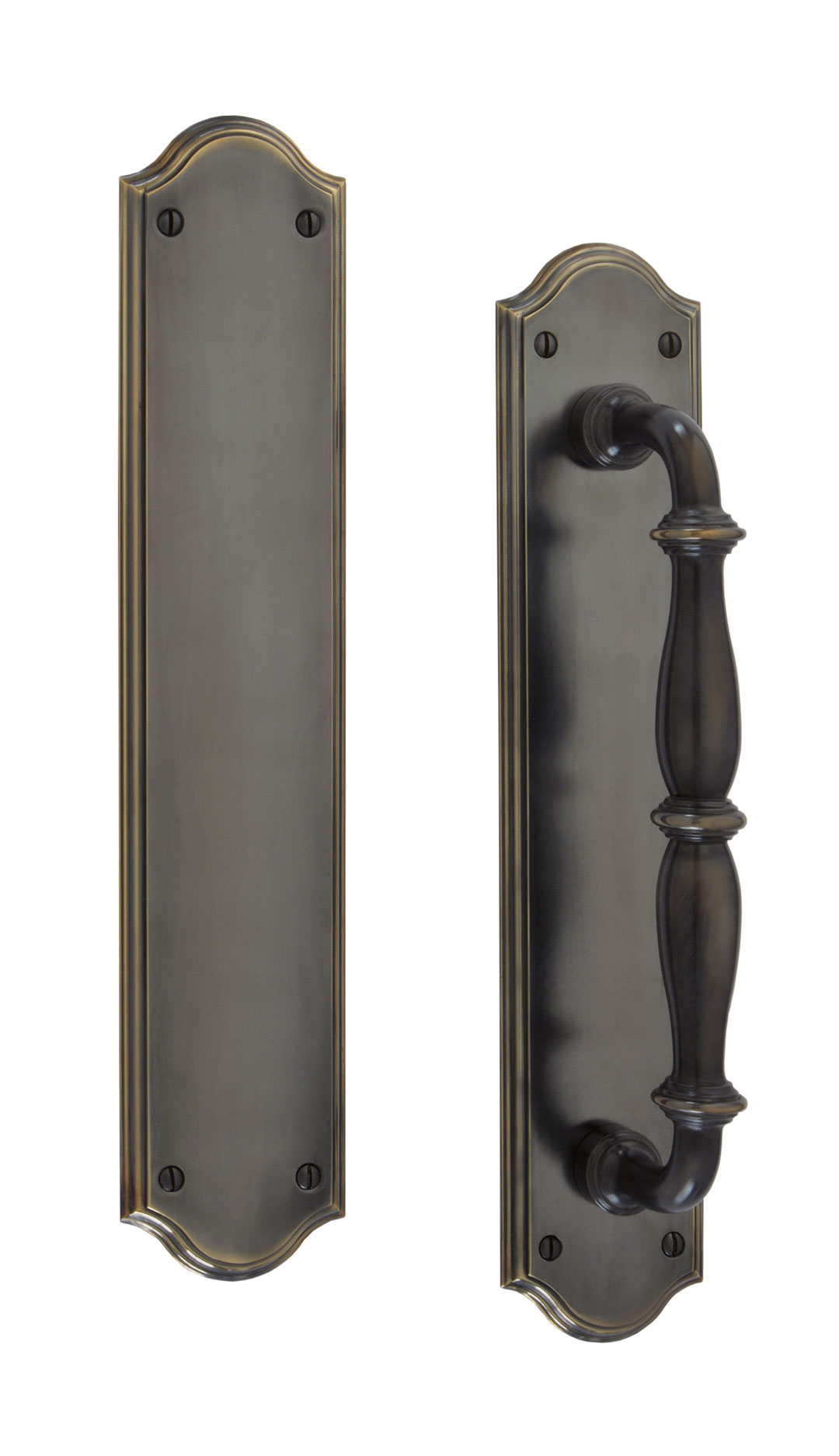 Jamestown Pulls Pull Plates u0026 Push Plates  sc 1 st  Water Street Brass : decorative door push plates - pezcame.com
